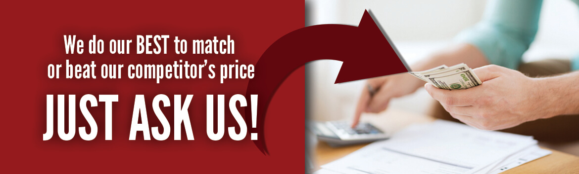 heating and cooling price matching Northwestern Indiana