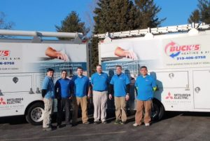 Buck's Heating and Air team