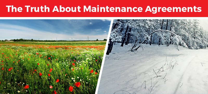 heating and cooling maintenance agreements